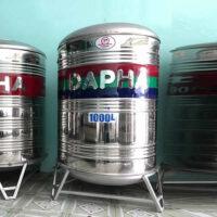 Bồn nước inox 1000l Dapha R