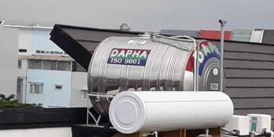 Bồn nước inox Dapha R 2000 lít nằm