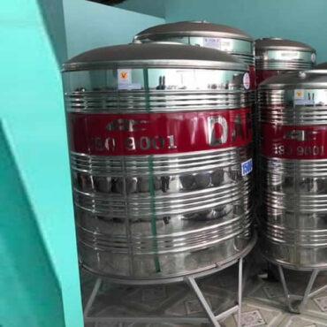 bồn nước inox dapha 1500l đứng