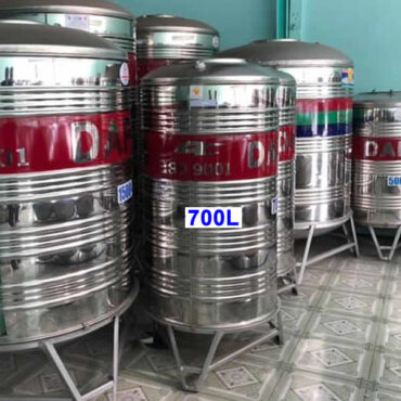 BỒN NƯỚC INOX DAPHA 700L ĐỨNG