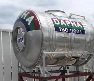 Bồn nước inox 1000l nằm Dapha R