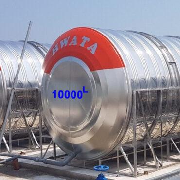 BỒN NƯỚC INOX HWATA 10.000 LÍT NGANG