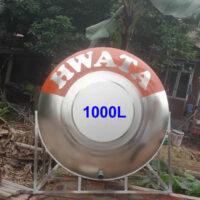 BỒN NƯỚC INOX 1000 LÍT NGANG HWATA