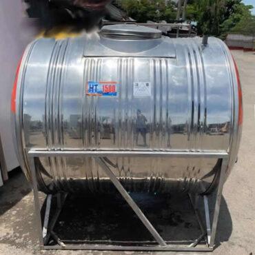BỒN NƯỚC INOX HWATA 1.500 LÍT NẰM NGANG