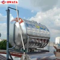 BỒN NƯỚC INOX 700L NẰM HWATA