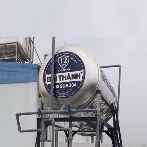 BỒN NƯỚC INOX 700L NGANG ĐẠI THÀNH