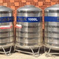 BỒN NƯỚC INOX SƠN HÀ 1000 LÍT ĐỨNG