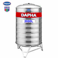 BỒN NƯỚC INOX 2000L ĐỨNG DAPHA