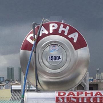 Bồn nước inox 1500l Dapha