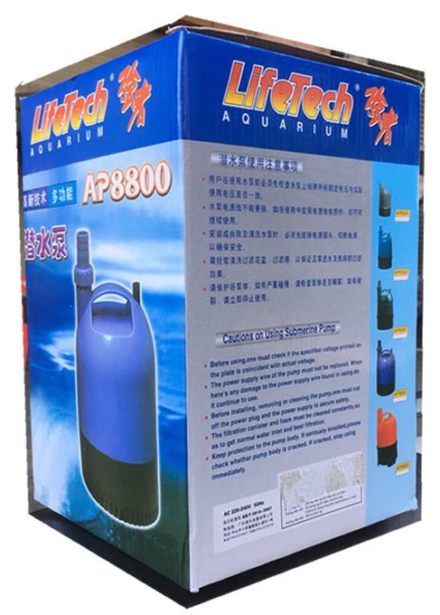 máy bơm hồ cá lifetech Ap8800