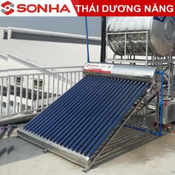 Máy nước nóng năng lượng mặt trời Thái Dương Năng 180l Gold