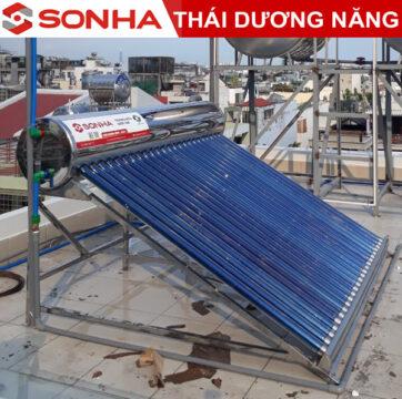 máy nước nóng năng lượng mặt trời thái dương năng 160l Eco