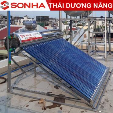 máy nước nóng năng lượng mặt trời thái dương năng 240l gold