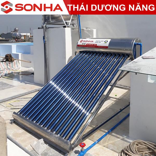 máy nước nóng năng lượng mặt trời Thái Dương năng