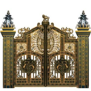 Cửa cổng đúc đẹp
