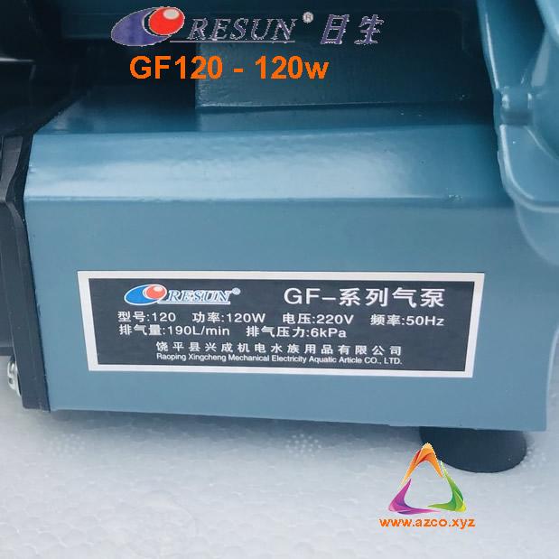 máy thổi oxy resun GF120
