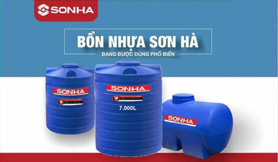 Bồn nhựa 7.000 lít Sơn Hà