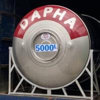 Bồn nước inox 5000l Dapha