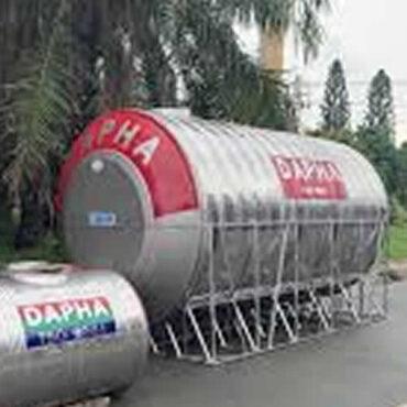 Bồn nước inox 10000l Dapha