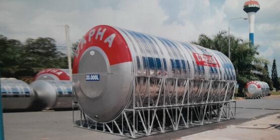Bồn nước inox Dapha 20000L